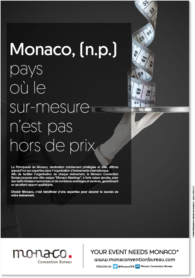 Monaco convention bureau - Monaco Convention Bureau - Agence Colibri - Campagne de communication 2017 du Monaco Convention Bureau - 2