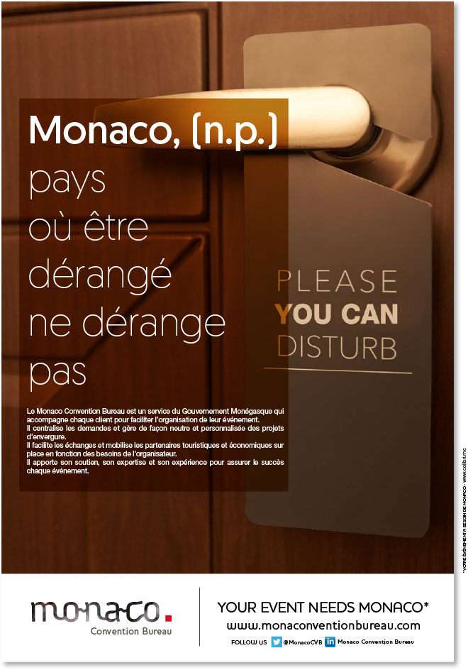Monaco convention bureau - Monaco Convention Bureau - Agence Colibri - Campagne de communication 2017 du Monaco Convention Bureau - 5