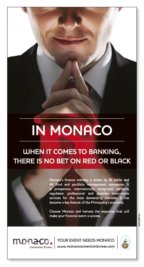 Monaco convention bureau - Monaco Convention Bureau - Agence Colibri - Campagne de communication 2013 du Monaco Convention Bureau - 5