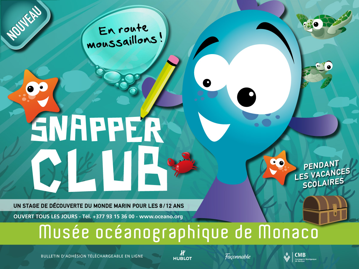 Snapper Club - Agence Colibri, Design, Publicité, Web - Snapper Club - 1