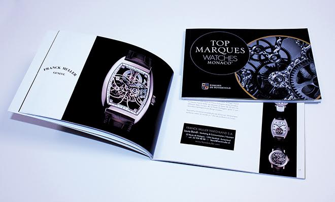 Top marques watches - Top Marques Watches - Agence Colibri, Design - Conception du catalogue et campagne de communication - 2